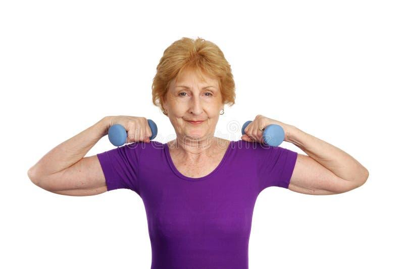 Download Senior Workout - Strength Royalty Free Stock Image - Image: 2600056