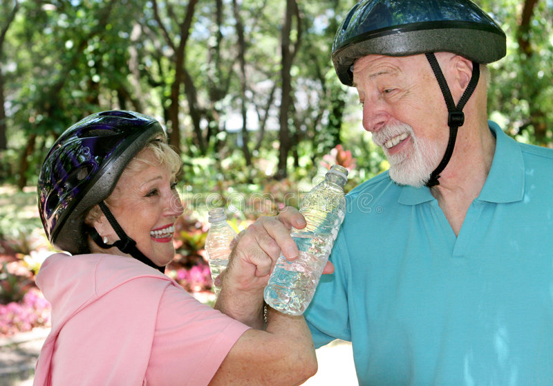 Seniors Fitness & Fun royalty free stock images