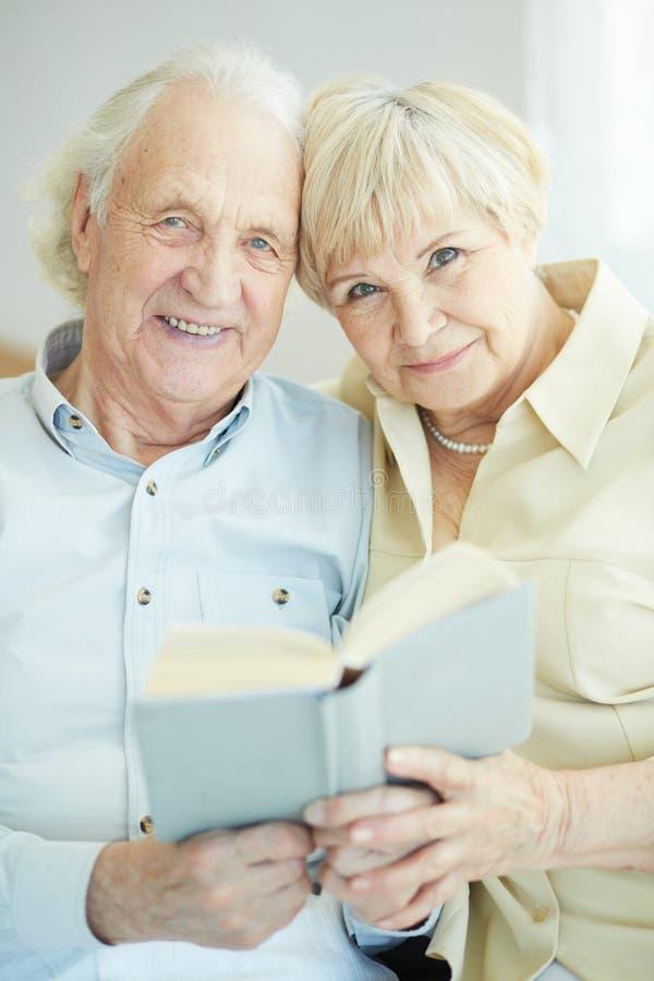 Download Seniors reading stock image. Image of people, husband - 34212123