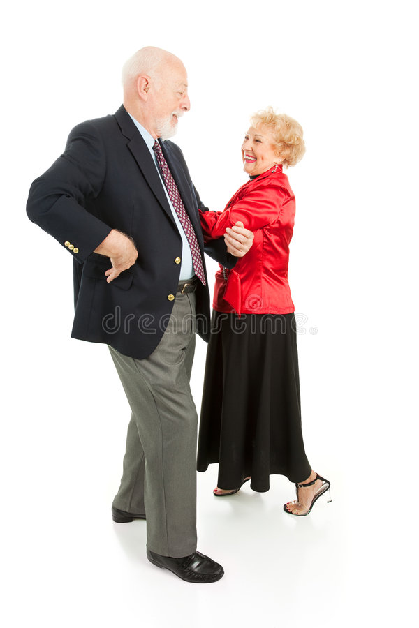 Free Seniors Square Dancing Royalty Free Stock Photo - 8027255