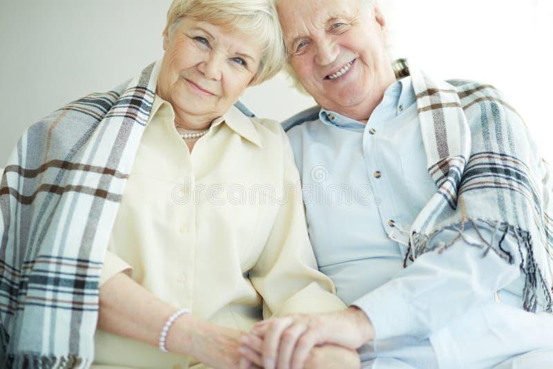 Download Seniors with tartan stock photo. Image of elderly, emotion - 33831360