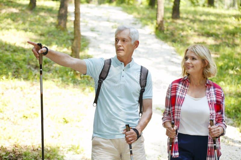seniorzy aktywnych zdjęcie stock