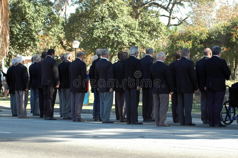 seniorzy grupowe fotografia stock