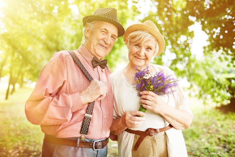 seniorzy szczęśliwi obraz stock