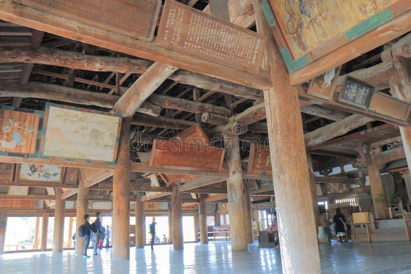 Senjokaku historischer errichtender Miyajima Japan stockfotos