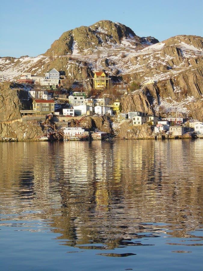 Senken Sie Batterie Neufundland lizenzfreie stockfotografie