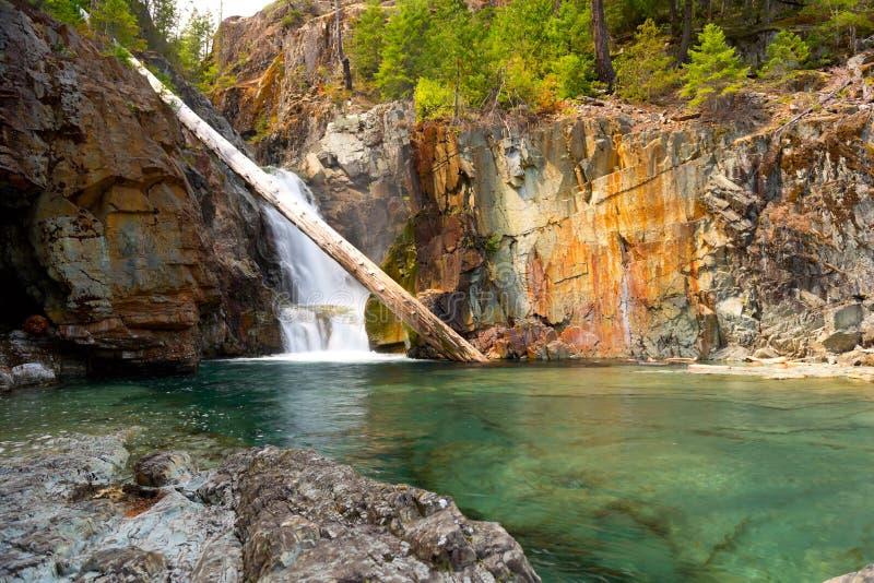 Senken Sie Myra Waterfalls lizenzfreies stockbild