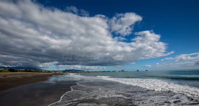 Senkung der Wolke stockfoto