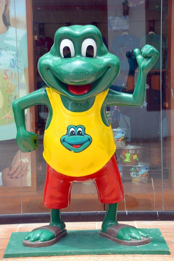 Senor żaba znak obrazy royalty free
