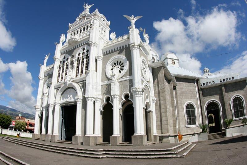 senora του Άγγελος basilica cartago de los nuestra στοκ εικόνες