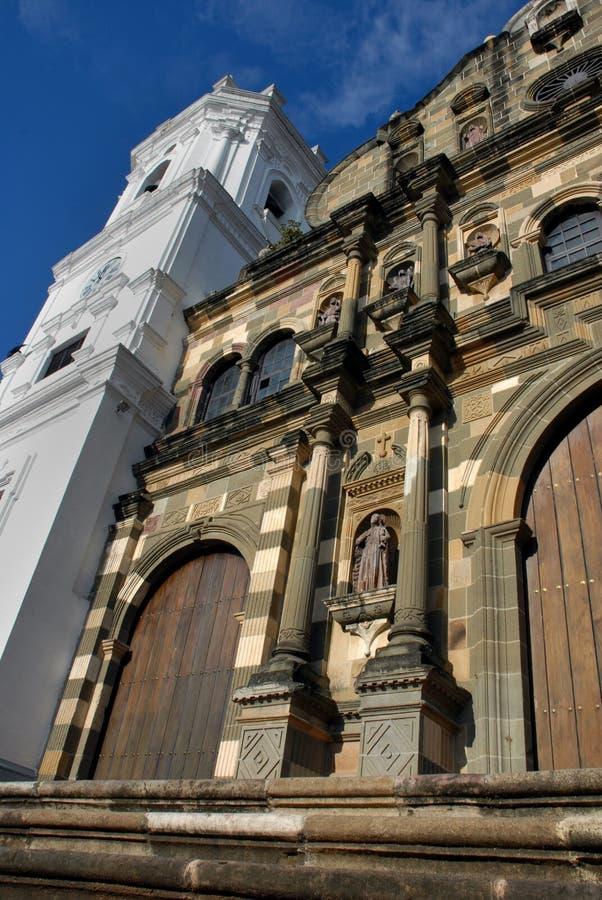 senora du Panama de La de la ville de de cathédrale d'asuncion photos stock