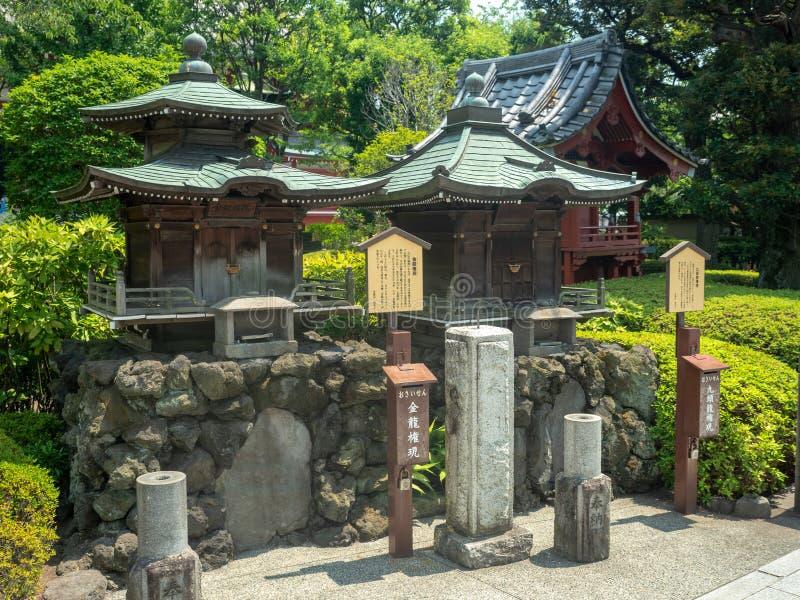 SensÅ- - ji Tempel, Tokyo, Japan lizenzfreie stockbilder
