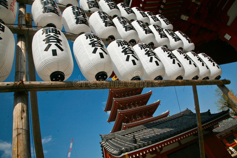 SensÅ  - ji Tempel royalty-vrije stock afbeelding