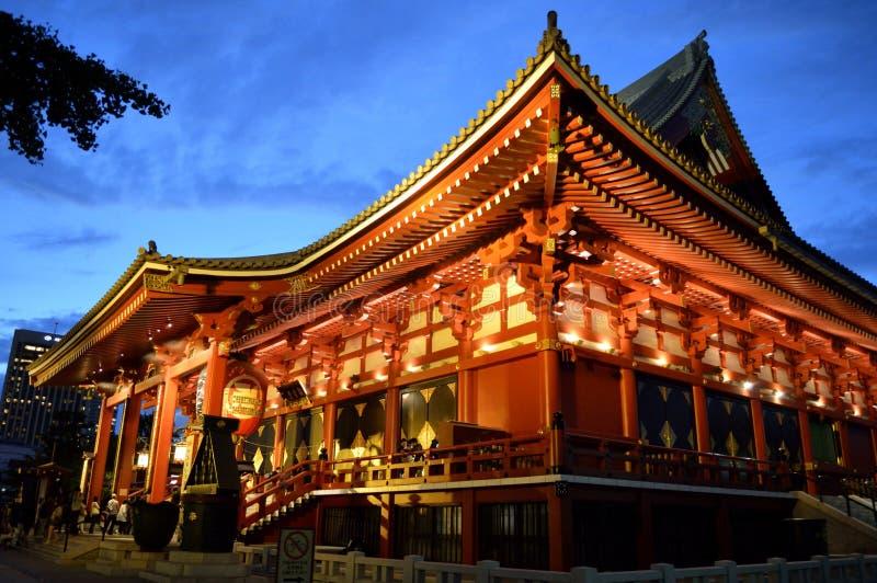 Sensō-sensō-ji ναός Asakusa Ιαπωνία στοκ φωτογραφίες με δικαίωμα ελεύθερης χρήσης