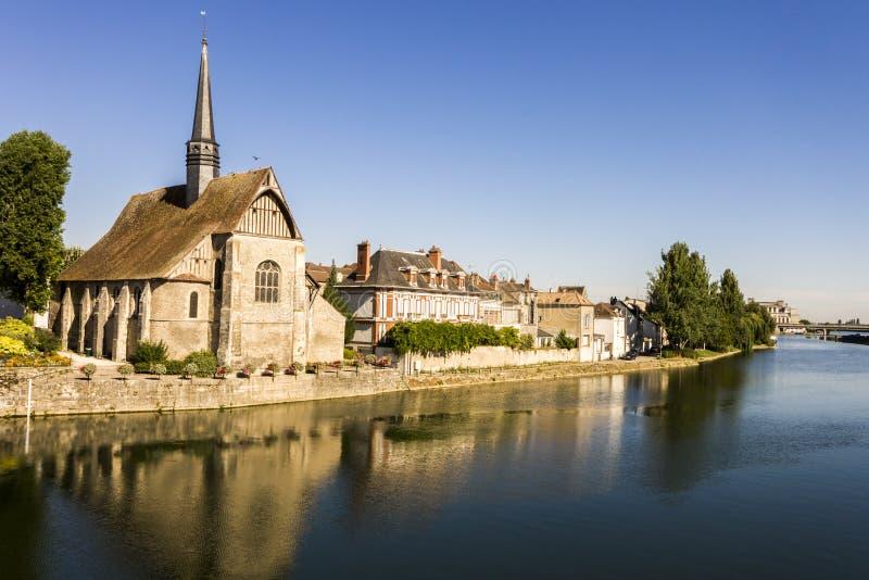 Sens, Frankrijk stock foto