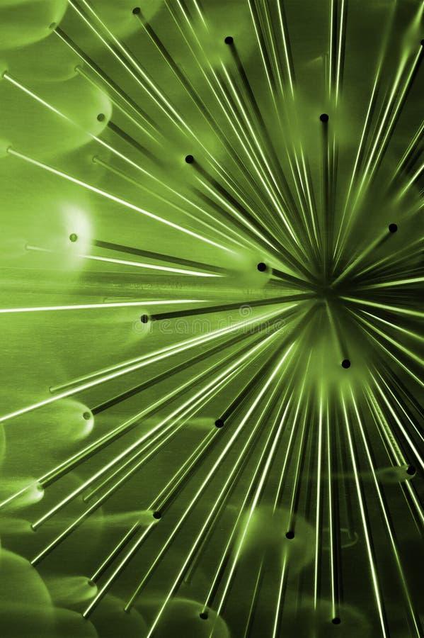 Sensación abstracta verde fotografía de archivo libre de regalías