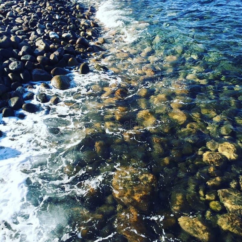 Sensación del agua imagen de archivo