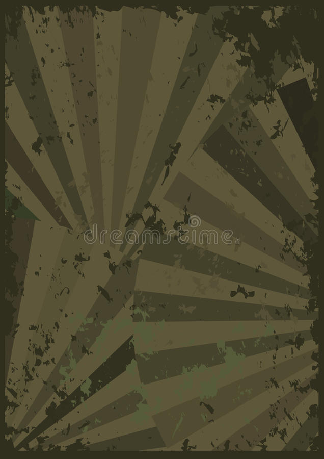 Sensation grunge abstraite Paper_eps de ventilateur illustration stock