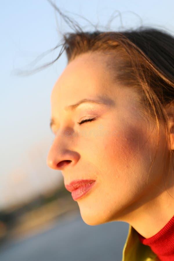 Sensations de Sun photo libre de droits