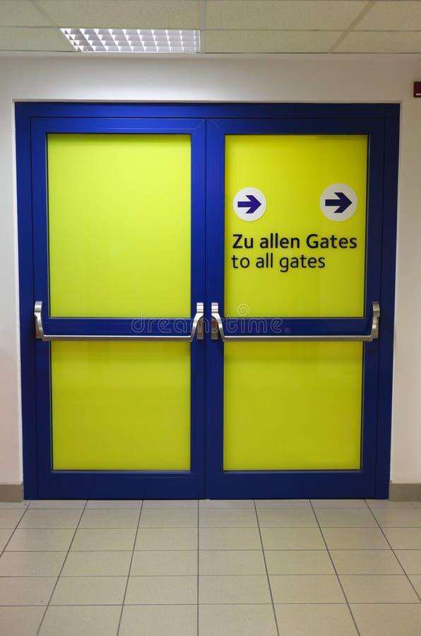 Sensi dell'aeroporto immagini stock libere da diritti
