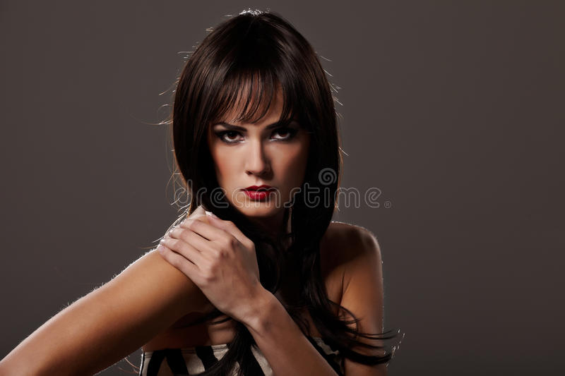Download Sensibility stock photo. Image of glamour, hairstyle - 16804270