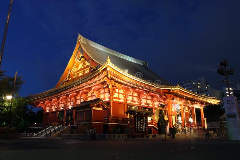 Senso籍寺庙,浅草,东京,日本 库存照片
