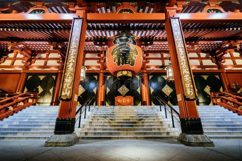 Senso籍寺庙 免版税库存照片