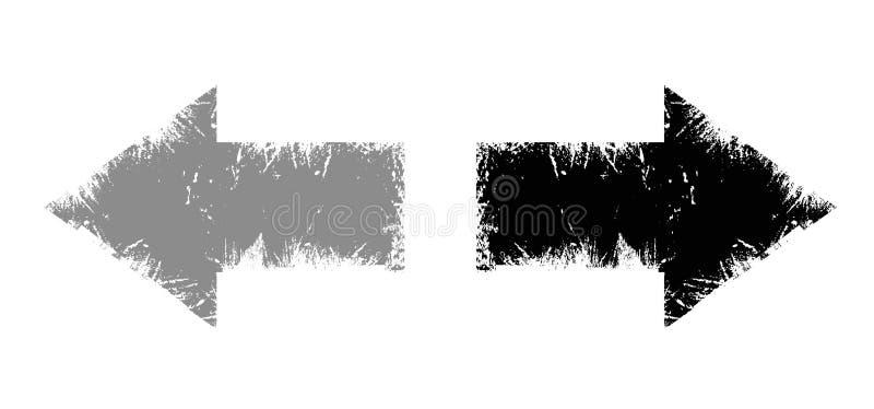 Download Senso della freccia illustrazione vettoriale. Illustrazione di giù - 7312400