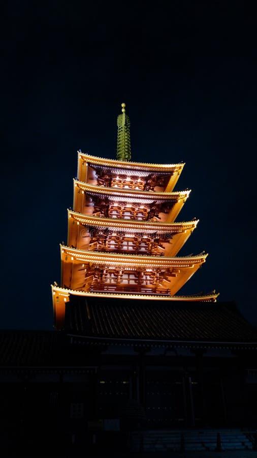 Senso Ji Temple stock photo