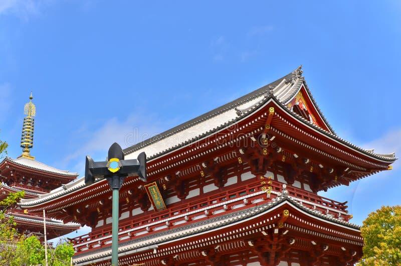 Senso-ji Temple Stock Photo