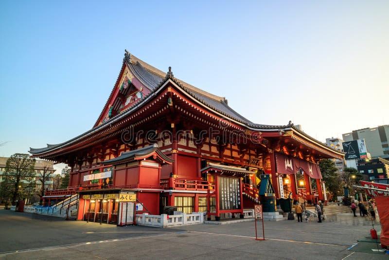 Download Sensoji寺庙在东京,日本 图库摄影片. 图片 包括有 地标, 佛教, 布琼布拉, 目的地, 记录, 吸引力 - 72371572