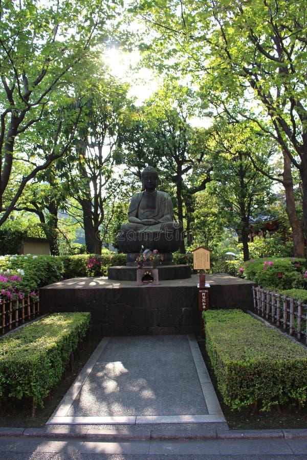 Sensoji寺庙菩萨 库存照片