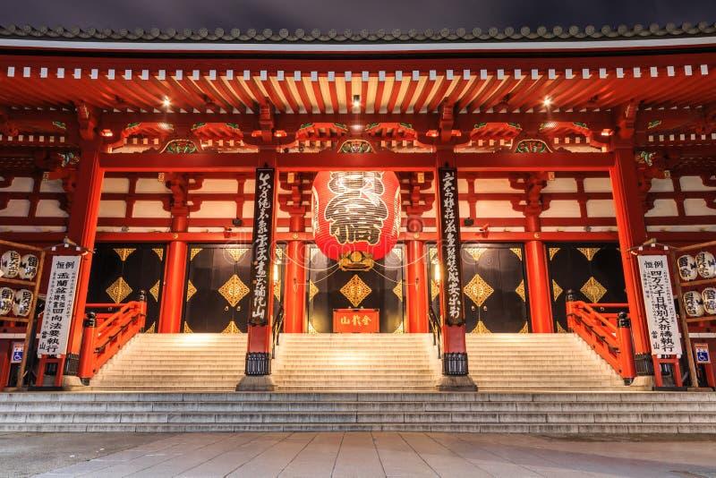 Sensoji świątynia obrazy stock