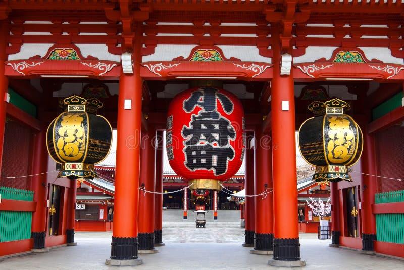 Sensoji Asakusa寺庙 免版税库存照片