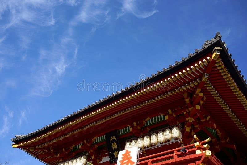 Sensoji tempel fotografering för bildbyråer