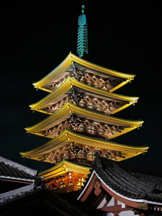 Sensoji Tempel, Asakusa, Tokyo, Japan lizenzfreie stockbilder