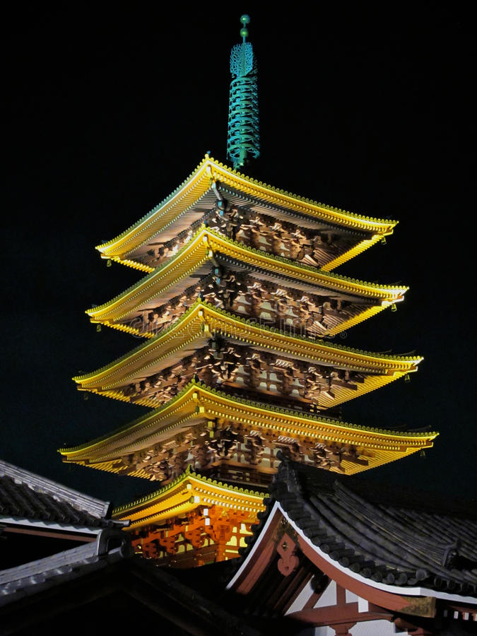 Download Sensoji Temple, Asakusa, Tokyo, Japan Stock Image - Image of tokyo, sensoji: 19580269