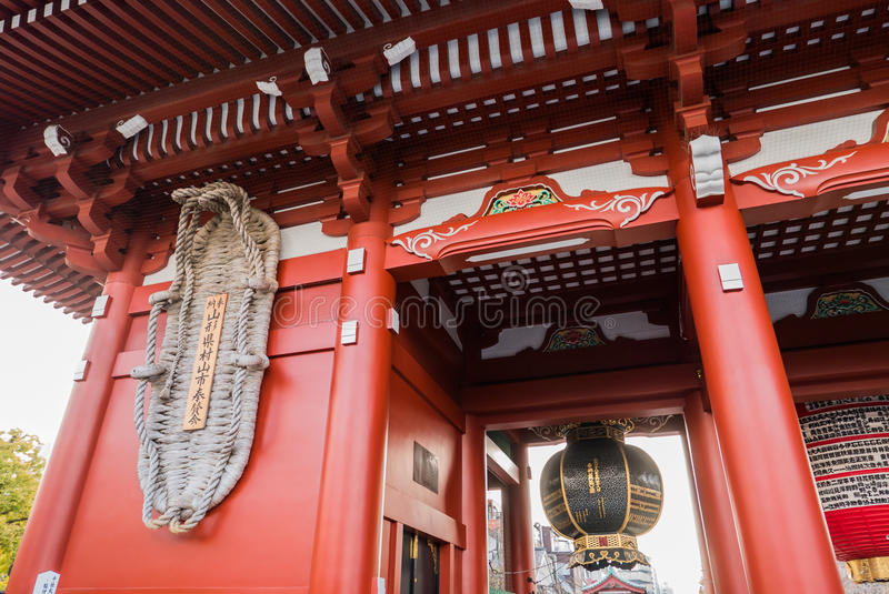 Sensoji Temple in Tokyo, Japan royalty free stock photo