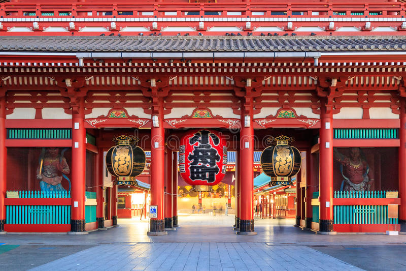 Sensoji Temple in Tokyo, Japan. royalty free stock photography