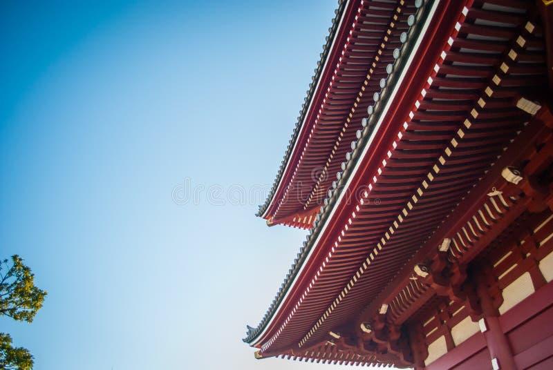 Sensojitempel op Asakusa-Gebied royalty-vrije stock afbeelding