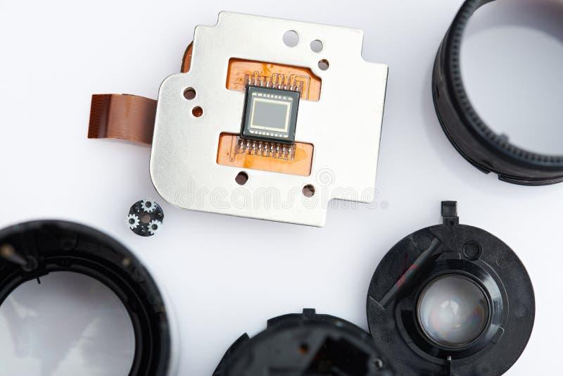 Sensor de la cámara de la imagen de Digitaces fotos de archivo libres de regalías