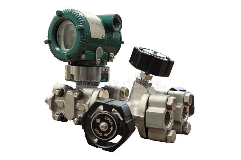 Sensor de la presión diferenciada. fotos de archivo