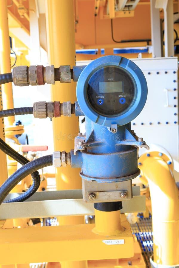 Sensor de la presión y de temperatura de Digitaces para industrial fotografía de archivo