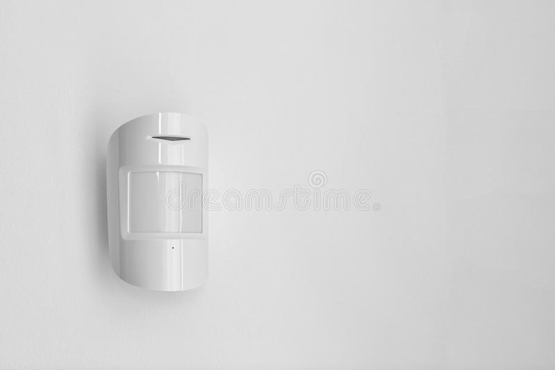 Sensor de movimiento moderno dentro foto de archivo libre de regalías