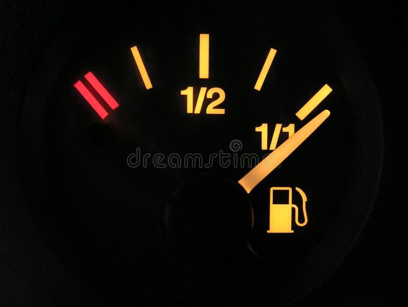 Sensor do combustível completamente fotos de stock royalty free