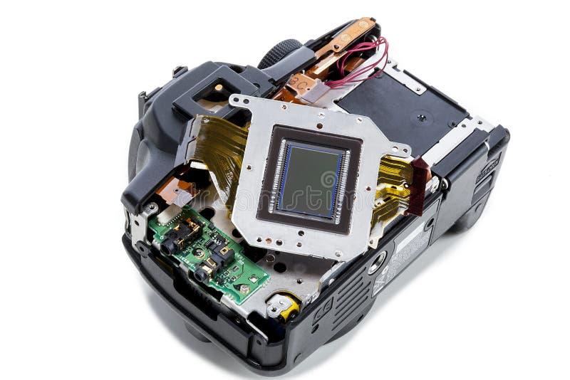 Sensore della macchina fotografica di Digital SLR immagine stock libera da diritti