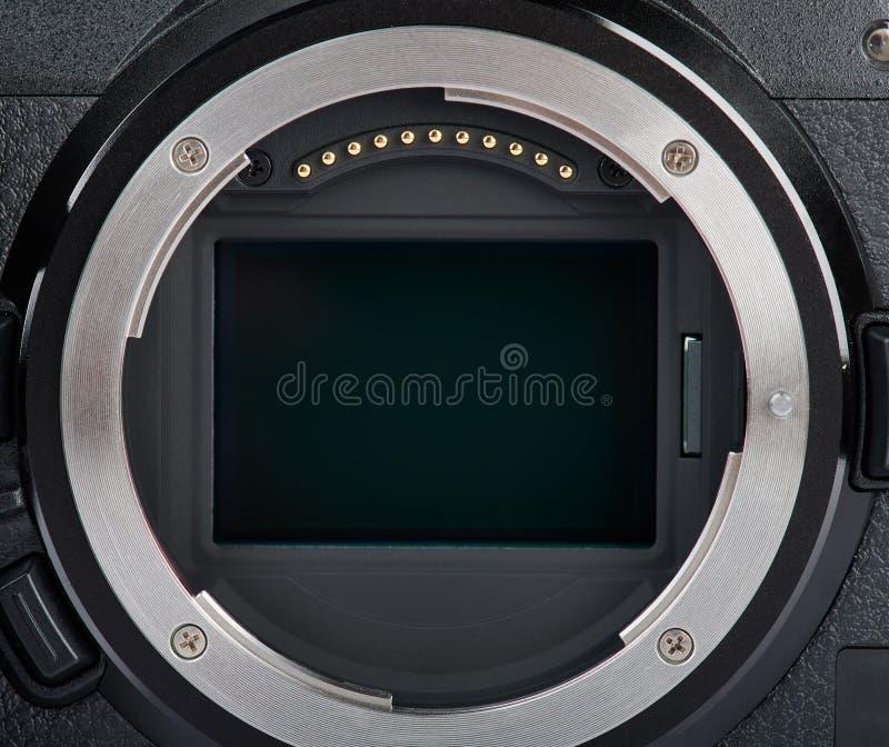 Sensore della macchina fotografica digitale immagine stock libera da diritti