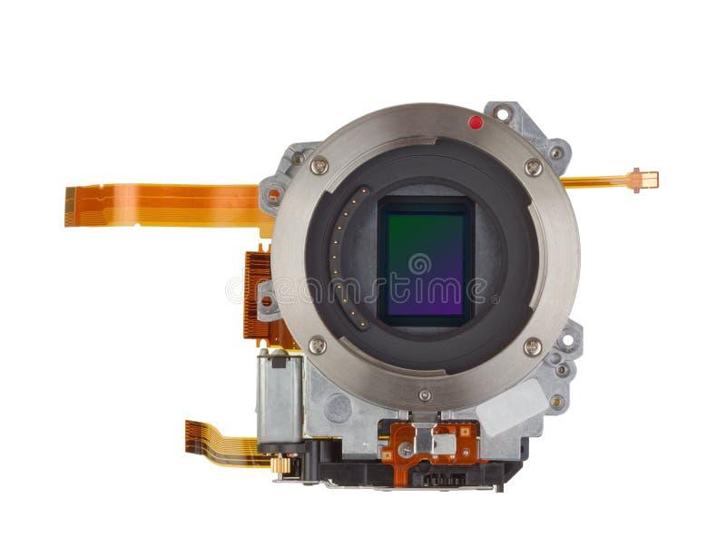 Sensore fotosensibile del silicio fotografie stock