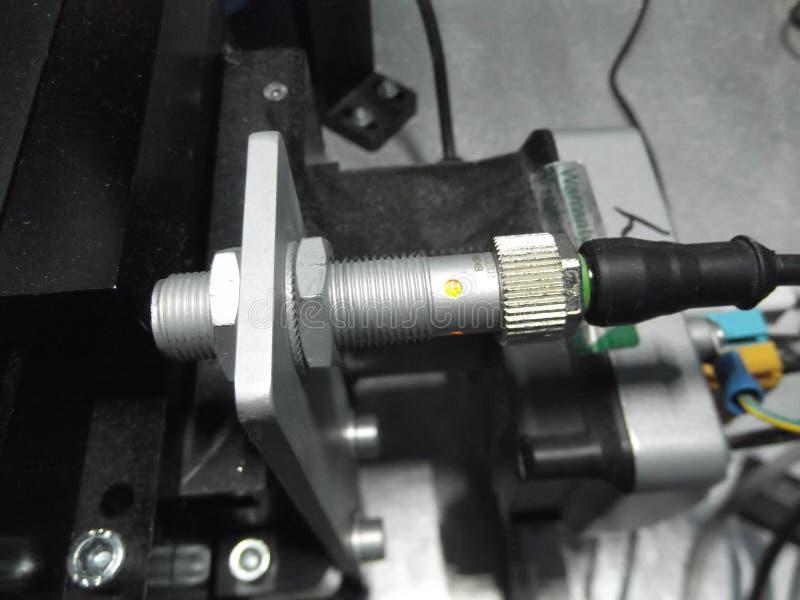 Sensore, prossimità, elettronico, controller, macchina, ingresso immagine stock