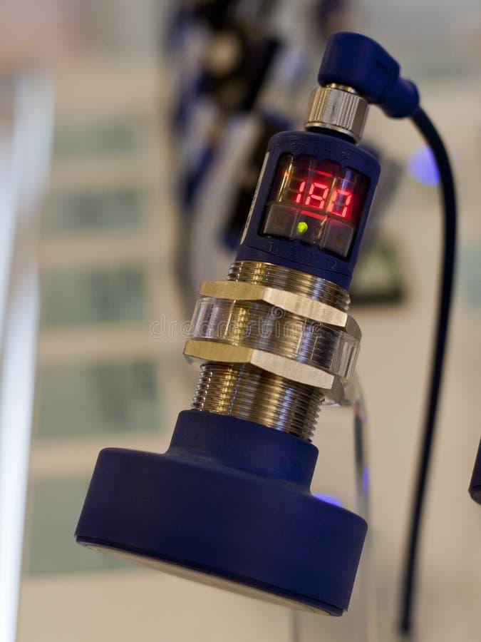 Sensore ultrasonico fotografia stock libera da diritti
